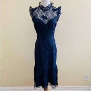 Chelsea28 Ruffle Victorian Vintage Inspired Dress